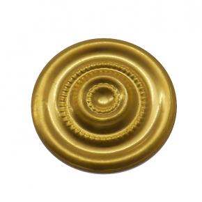 Applikation Messingblech Durchmesser 26mm