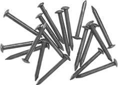 3698: Stahlnagel vermessingt patiniert, 1 Stk., 1,6 x 14 mm