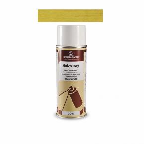 Holzspray Retuschierlack gold 400ml 31.25¤/l