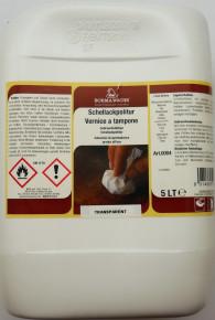 33612: BORMA Schellackpolitur Wachsfrei, Transparent, 5 Liter (23,58¤/ltr)