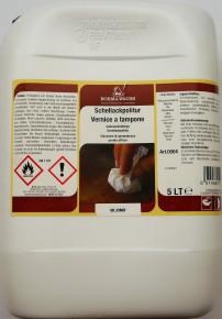 33624: BORMA Schellackpolitur Wachshaltig, Blond-Lemon, 5 Liter (19,89¤/ltr)