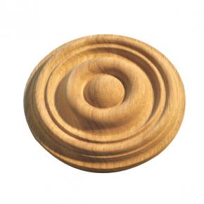 Holzapplikation Durchmesser 190mm Tanne Buche Eiche