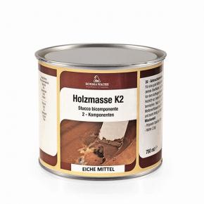 Holzmasse K2 Zweikomponenten Holzkitt Eiche mittel 71.44¤/l