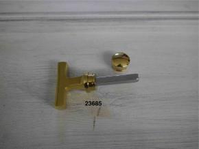 WC-Verschluss Griffbreite 50 mm Tiefe 33 mm