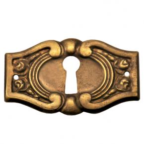 Schlüsselschild Messingblech 50 x 30mm