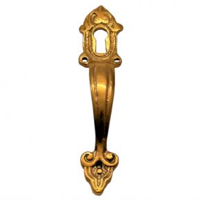 Griff mit Schlüsselloch Messingguss 25 x 110mm