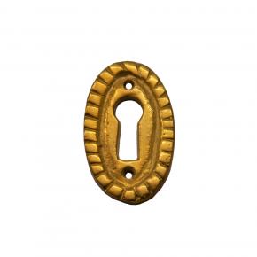 Schlüsselschild Messingguss 20 x 35mm