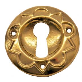 Schlüsselschild Messingguss Durchmesser 30mm
