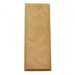 Holzzierteil aus Linde Breite 100mm Höhe 268mm