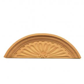 Schrankaufsatz - 2 Holzarten verfügbar - 325 x 100 mm Artikel 105234